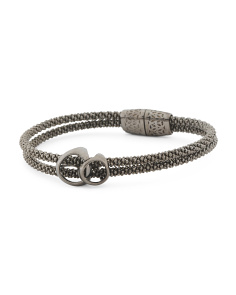 Made In Italy Sterling Silver Linked Bracelet