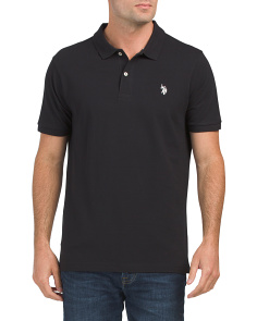 Short Sleeve Solid Pique Classic Polo