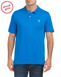 Short Sleeve Solid Interlock Classic Polo