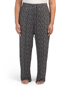Plus Dream Striped Lounge Pants