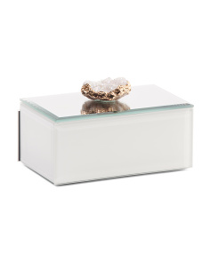 Box With Agate Top