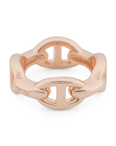 Made In Italy Multi Link Ring