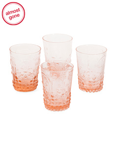 4pk 8oz Drinking Glasses