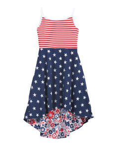 Little Girls Reversible Americana Dress