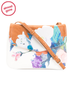 Double Gusset Floral Crossbody