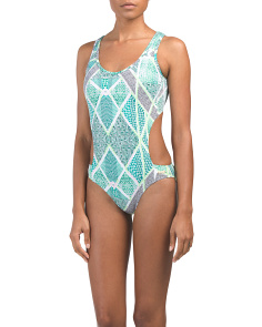 Designed In Australia Cut Out One-piece Swimsuit
