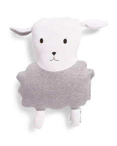 Made In India Knit Plush Sheep Pillow
