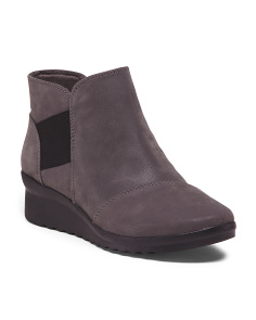 Wide All Day Comfort Wedged Booties