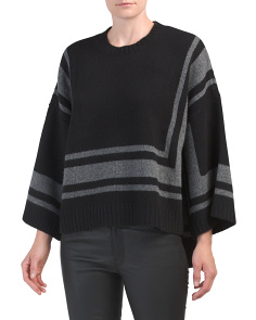 Wool Bold Stripe Sweater