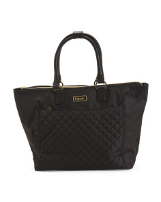 14in Quilted Fashion Tote