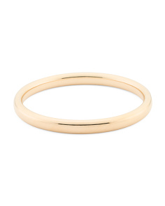 Made In Italy 14k Gold  Bangle Bracelet