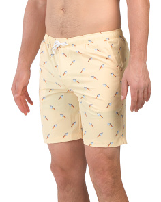 Australian Designed Ice Cream Swim Trunks