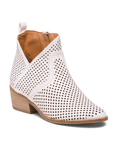 Low Heel Booties