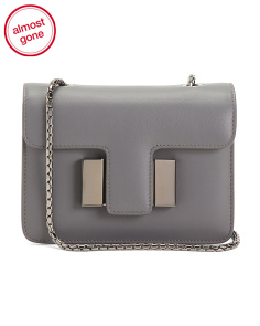 Made In Italy Leather Sienna Crossbody