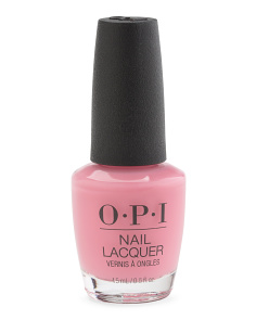 I Think In Pink Nail Lacquer
