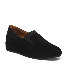 Suede Memory Foam Cushioned Shoes