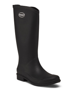 Galochas High Shaft Matte Rain Boots