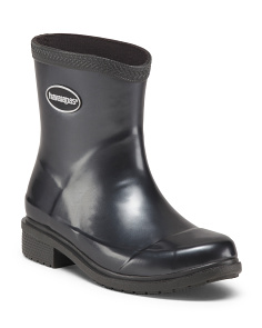 Galochas Low Metallic Rain Boot