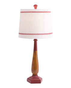 Kids 25.5in Baseball Bat Table Lamp
