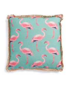 20x20 Flamingos Pillow