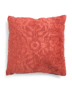 Made In India 20x20 Izmir Textured Pillow