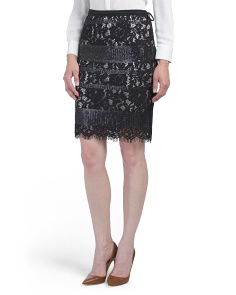 Halogen Sweater Pencil Skirt Regular Pee