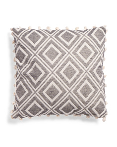 Made In India 20x20 Geometric Pillow