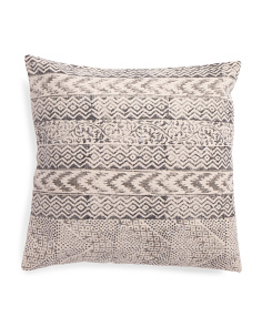 Made In India 22x22 Contemporary Pillow