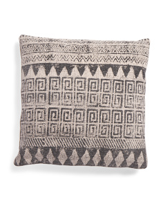 Made In India 24x24 Contemporary Pillow