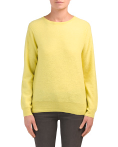 Classic Crew Neck Cashmere Sweater
