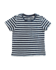 Toddlers & Little Boys Striped Tee
