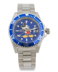 Men's Automatic Mickey Mouse Limited Edition Bracelet Watch