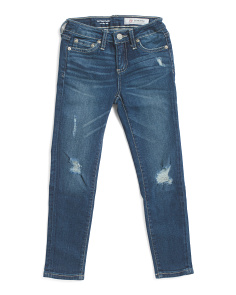Big Girls Twiggy Super Skinny Jeans