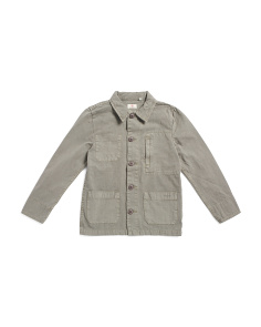 Big Boys Matty Canvas Jacket