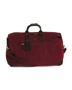 Made In Italy Life 22in Cargo Duffle