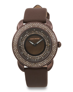 Women's Swiss Made Diamond 36mm Watch