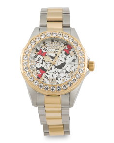 Women's Limited Edition Minnie Mouse Bracelet Watch