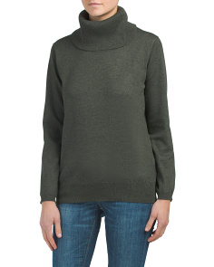 Fine Gauge Cowl Neck Sweater