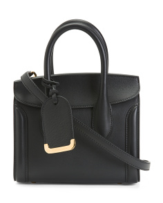 Made In Italy Leather Heroine Mini 21 Satchel