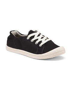 Lace Up Canvas Sneakers