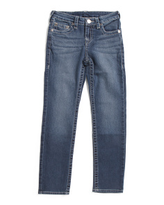 Little Boy Slim Stretch Denim Pants