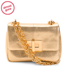 Karung Small Leather Shoulder Bag