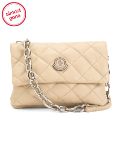 Leather Quilted Crossbody Bag