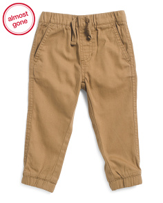Infant Twill Joggers