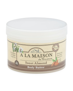 8oz Natural  Sweet Almond Body Butter