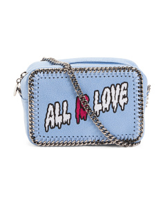 Made In Italy All Is Love Clutch