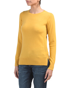 Cashmere Crew Neck Sweater