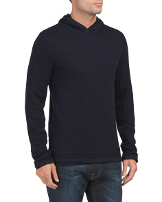 Wool Double Layer Hoodie