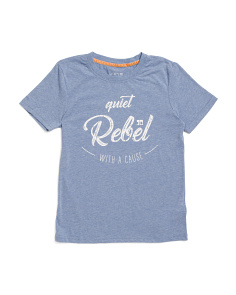 Big Boy Quiet Rebel Tee