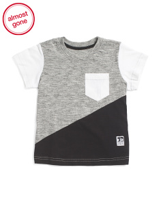 Toddlers & Little Boys Color Block Tee